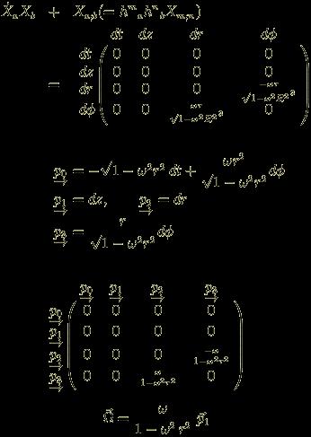 calculation of vorticity vector in Born Coordinates. no.3
