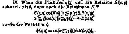 S.180/Über formal unentscheidbare Sätze der Principia Mathematica und verwandter Systeme I. Kurt Gödel. Monatshefte für Mathematik und Physik. 38, 1931, S.173–198