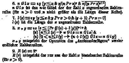 S.182/Über formal unentscheidbare Sätze der Principia Mathematica und verwandter Systeme I. Kurt Gödel. Monatshefte für Mathematik und Physik. 38, 1931, S.173–198
